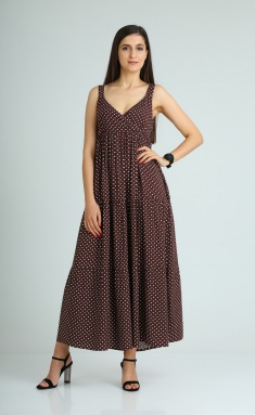 Dress Celentano 1929 shokolad