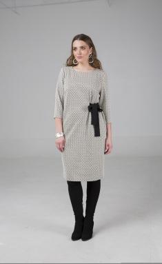 Dress Elletto 1508 bezh