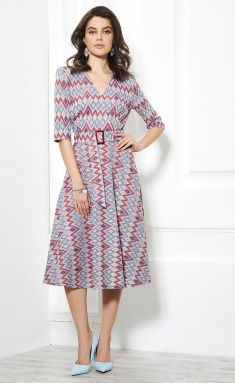 Dress AYZE 1942 multikolor