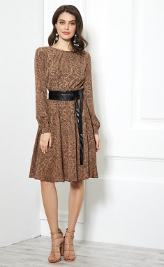 Dress AYZE 1955 karamel