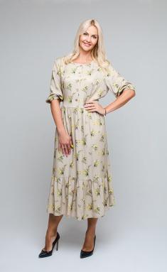 Dress Avila 0859 bezh
