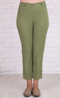 Trousers Avila 0395 oliv