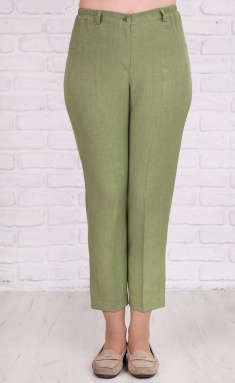 Trousers Avila 0602 oliv