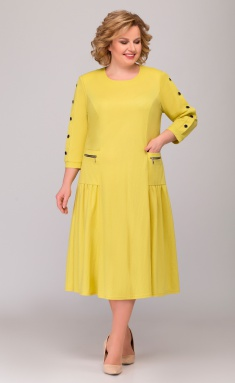 Dress Asolia 2464 zhelt
