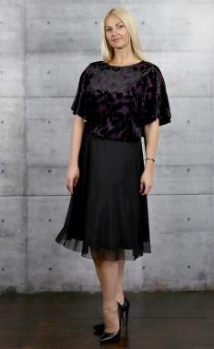 Dress Avila 0665 fiolet