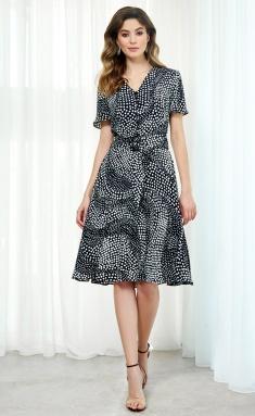 Dress AYZE 2011 cherno-belyj
