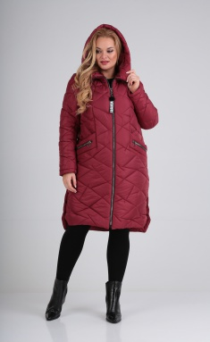 Coat Trikotex-Style M 3420 malina