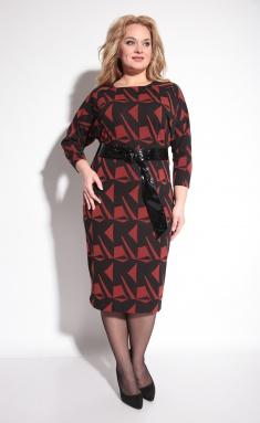 Dress Michel Chic 2028 cherno-korichn