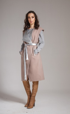 Coat Amori 2058 bezh 170