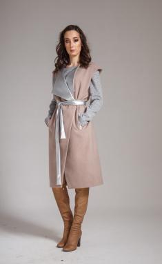 Coat Amori 2058 bezh 164