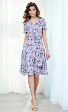 Dress AYZE 2060 sirenevyj