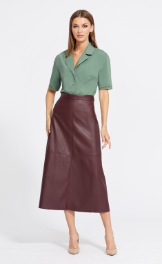 Skirt EOLA 2087 bordo