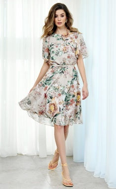 Dress AYZE 2102 bezhevyj