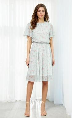 Dress AYZE 2102 fistashkovyj