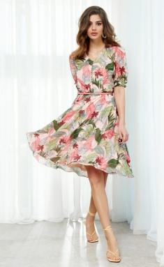 Dress AYZE 2119 multikolor