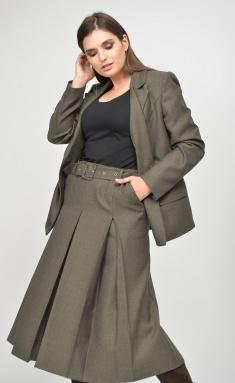 Skirt MALI 0211 xaki