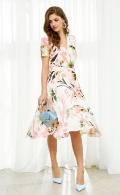 Dress AYZE 2121 multikolor
