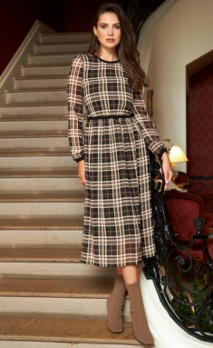 Dress AYZE 2144 multikolor