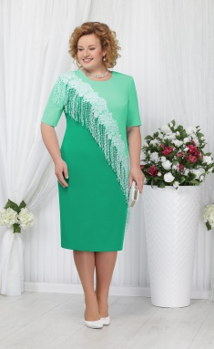 Dress Ninele 2152 zelenyj+sv-zel