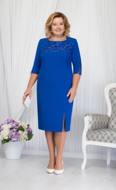 Dress Ninele 2167 vasilek