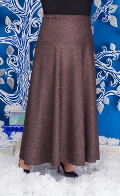 Skirt Ninele 0216 korichn odnoton