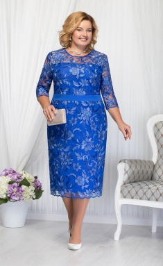 Dress Ninele 2173 vasilek