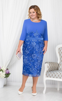 Dress Ninele 2177 vasilek