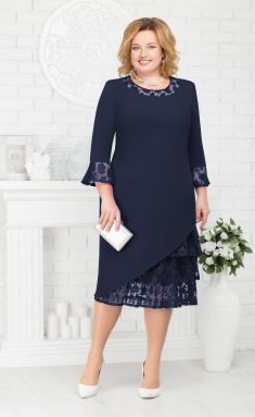 Dress Sale 2182 sinij