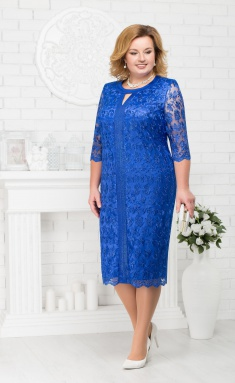 Dress Ninele 2183 vasilek