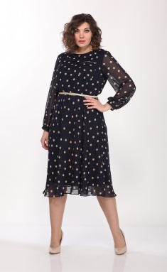 Dress Lady Style Classic 2205/5 yark bezh