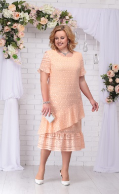 Dress Ninele 2208 persik