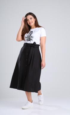 Skirt MALI 221-028 chernyj