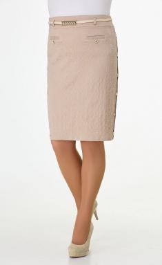 Skirt Elite Moda 2218 bezh