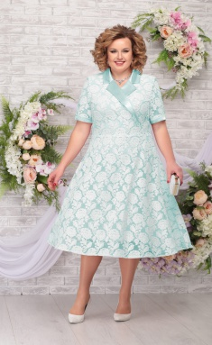 Dress Ninele 2249 svetlo-zel