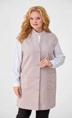 Waistcoat Elite Moda 2251 bezh