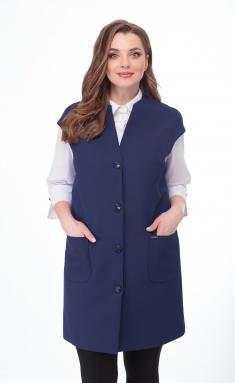 Waistcoat Elite Moda 2251 sinij