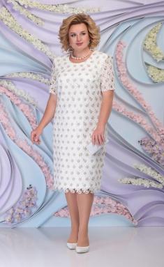 Dress Ninele 2253 bel + zoloto