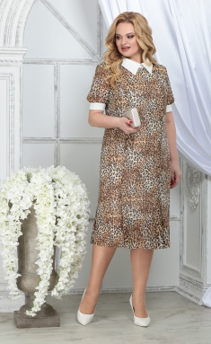 Dress Ninele 2287 leopard