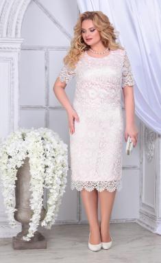 Dress Ninele 2296 pudr + mol