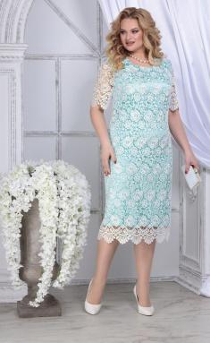 Dress Ninele 2296 svetlo-zel + mol