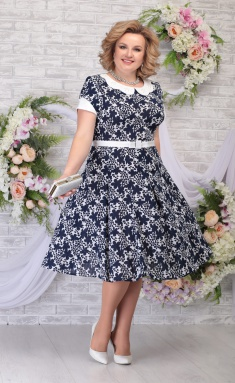 Dress Ninele 2315 sinie cv
