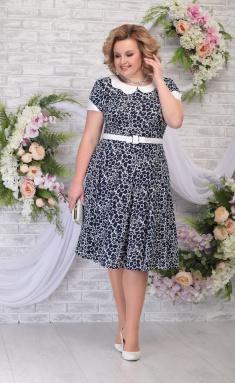 Dress Ninele 2315 sinie romashki