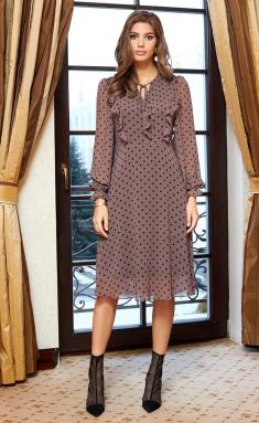 Dress AYZE 2350 kapuchino