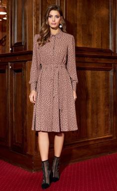 Dress AYZE 2361 kapuchino