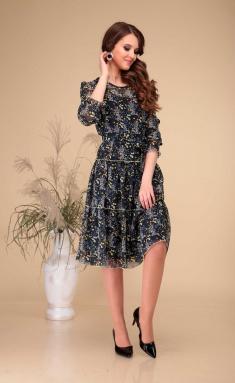 Dress Asolia 2462/2 zhelt cvety