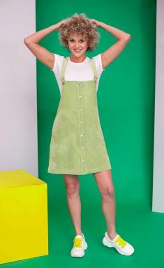Dress Euromoda 261 oliv