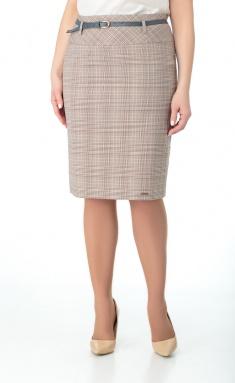 Skirt Elite Moda 2682 kletka