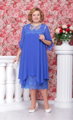 Dress Ninele 279 vasilek