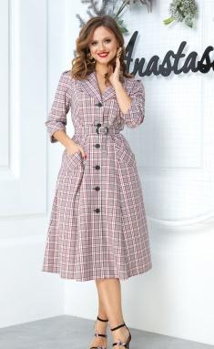 Dress Anastasia 527 sero-bord