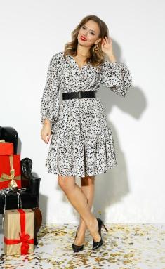 Dress Anastasia 523+remen leo